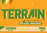 TERRAIN - New Global Beats & Bass at Cosies in Bristol