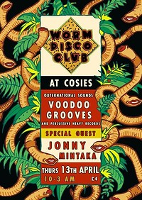 Worm Disco Club at Cosies in Bristol
