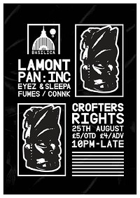BASILICA presents LAMONT & co. at Crofters Rights in Bristol