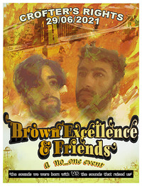 Brown Excellence + Friends at Crofters Rights in Bristol