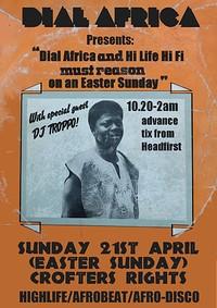 Dial Africa pres. Hi Life Hi Fi & DJ Troopo at Crofters Rights in Bristol