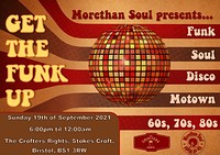 Get The Funk Up at Crofters Rights in Bristol