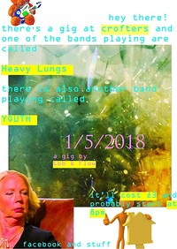 HEAVY LUNGS + YOUTH at Crofters Rights in Bristol
