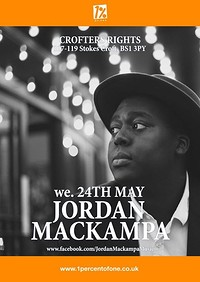 Jordan Mackampa at Crofters Rights in Bristol