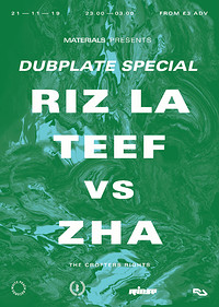 Materials: Dubplate Special *SOLD OUT TIX OTD* at Crofters Rights in Bristol