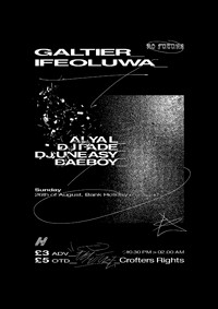 No Future 04: Galtier, Ifeoluwa at Crofters Rights in Bristol