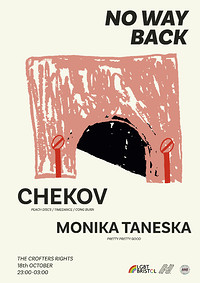 No Way Back presents: Chekov  at Crofters Rights in Bristol