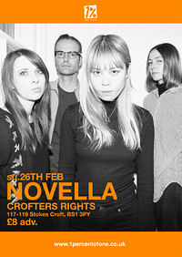 Novella at Crofters Rights in Bristol
