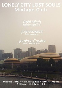 Robi Mitch, Josh Flowers, Jemima Coulter at Crofters Rights in Bristol