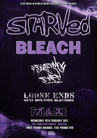 Starved & Bleach + Supports at Crofters Rights in Bristol