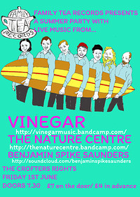 Vinegar/ The Nature Centre / Benjamin Spike Saunde at Crofters Rights in Bristol