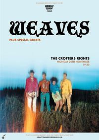 WEAVES at Crofters Rights in Bristol