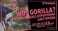 Wot Gorilla? at Crofters Rights in Bristol