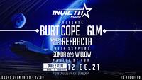 Invicta Presents: GLM, Burt Cope, Refracta at Dare to Club in Bristol