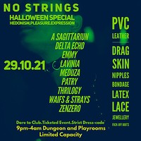 NO STRINGS HALLOWEEN SPECIAL at Dare to Club in Bristol