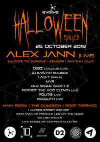 Halloween Evolved featuring Alex Jann [Live] at Dare To Swing in Bristol