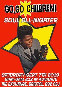 Go go Children Northern Soul All-nighter at Exchange in Bristol