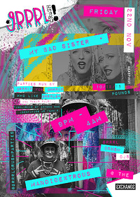 Grrrl Crush #23: My Bad Sister + Mandidextrous at Exchange in Bristol