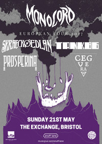 Monolord // Skraeckoedlan // Tank86 // Prosperina  at Exchange in Bristol