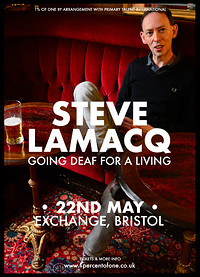 Steve Lamacq: Going Deaf For A Living at Exchange in Bristol