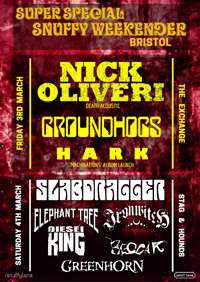 Super Special Snuffy Weekender - ft. Nick Oliveri at Exchange in Bristol