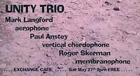 Unity Trio at Exchange in Bristol
