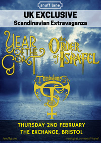 Year of the Goat // Order of Israfel // at Exchange in Bristol