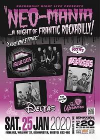 Neo-Mania: A Night of Frantic Rockabilly at Fiddlers in Bristol