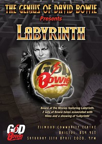 GoDBowie presents Bowie At The Movies : Labyrinth at Filwood Community Centre in Bristol
