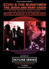 Echo & The Bunnymen + The Jesus & Mary Chain at Harbourside Amphitheatre in Bristol