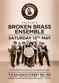 Broken Brass Ensemble at Hy Brasil Music Club in Bristol