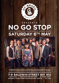 No Go Stop at Hy Brasil Music Club in Bristol