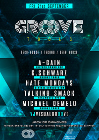 Groove Tools // 21St September // Techno at Jack of Diamonds in Bristol