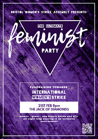 The Ultimate Feminist Party at Jack Of Diamonds in Bristol