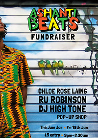 Ashanti Beats Fundraiser at Jam Jar in Bristol