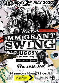 Immigrant Swing Family (ft. Buggsy) at Jam Jar in Bristol