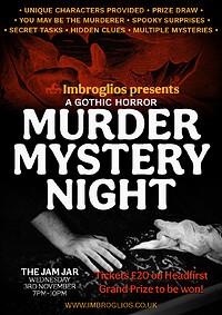 MURDER MYSTERY NIGHT: A Gothic Horror at Jam Jar in Bristol