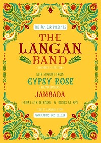 The Jam Jar Presents: The Langan Band at Jam Jar in Bristol