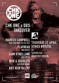 CHK One x DBS takeover at Kongs in Bristol