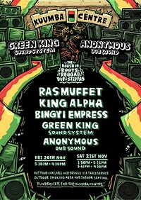 The House Of Roots Reggae Dub + Steppas at Kuumba Centre in Bristol