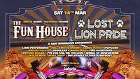 Fun House: The Lost Lion Pride! at Lakota in Bristol