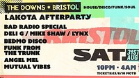 The Downs Bristol: Official Afterparty Tickets  at Lakota in Bristol