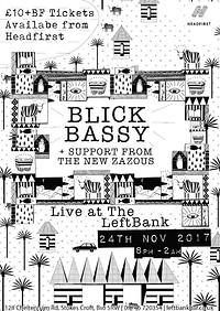 Blick Bassy with support from the New Zazous at LEFTBANK in Bristol