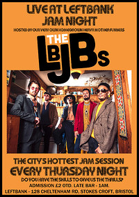 JAM SESSION HOSTED BY THE LBJBS at LEFTBANK in Bristol