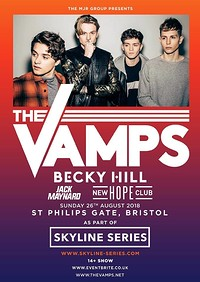 The Vamps (Skyline Series) at Lloyds Amphitheatre, Bristol in Bristol