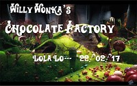 Willy Wonka's Factory  at Lola Lo in Bristol