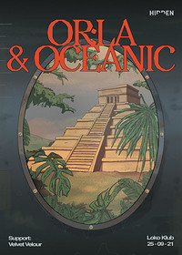 Hidden: Or:la & Oceanic (Venue change) at Lost Horizon in Bristol