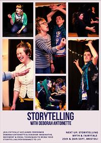 Storytelling Myth & Fairytale at Mivart Studios in Bristol