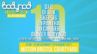 Bodynod 10 Year Anniversary at Motion in Bristol