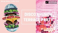 Disco Brunch - Terrace Party at Motion in Bristol
